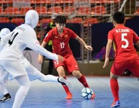 Đội tuyển futsal nữ Việt Nam dừng bước ở bán kết
