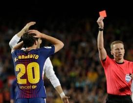 Đánh nguội Marcelo, ngôi sao của Barcelona bị phạt nặng