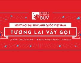 Khám phá khuôn viên đại học triệu đô tại Ngày hội Đại học Anh Quốc Việt Nam