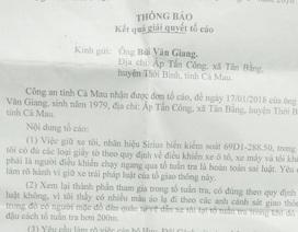 Vụ CSGT bị tố đạp ngực dân: Điều chuyển Đội trưởng Đội CSGT