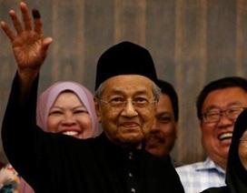 Thủ tướng Malaysia tuyên thệ nhậm chức ở tuổi 92