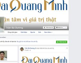 """Facebook ông Trần Bá Dương bị đánh sập; em ruột bà Kim Thoa tiếp tục giữ """"ghế"""" chủ tịch"""