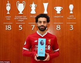 Mohamed Salah giành tới... 35 giải thưởng ở mùa giải này