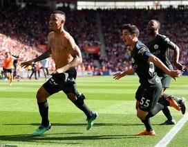 Man City kết thúc mùa giải với 100 điểm