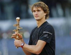 """Đánh bại Thiem, """"thần đồng"""" Zverev vô địch Madrid Open"""