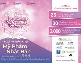 Ngày hội trải nghiệm mỹ phẩm Nhật Bản 2018