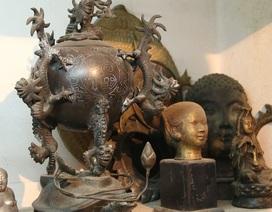 """Chiêm ngưỡng """"kho báu"""" tượng đồng của nghệ nhân Hà Nội"""