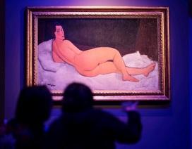 Bức tranh của danh họa Modigliani được bán hơn 157 triệu USD