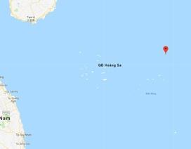 49 ngư dân đang gặp nạn trên vùng biển thời tiết xấu