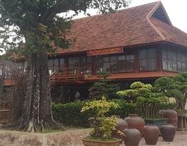 Bảo tàng gốm trong trang trại của em trai bí thư  đã được cấp phép