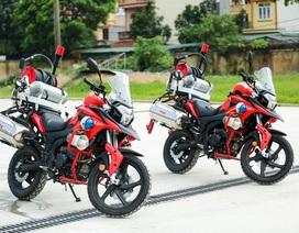 Môtô phân khối lớn cứu hỏa chuyên dụng mới có ở Việt Nam