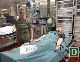 Bên trong tàu bệnh viện 1.000 giường lớn nhất thế giới đến Nha Trang