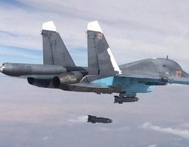 """Nga tấn công bao nhiêu mục tiêu IS tại """"chảo lửa"""" Syria?"""
