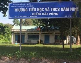 """Hàng loạt trường học ở Phú Quốc bị dự án """"nuốt chửng"""""""