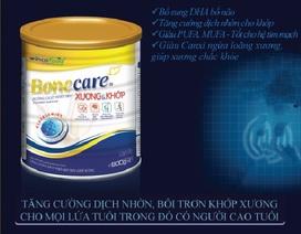 Chăm sóc sức khỏe với Bonecare Xương và Khớp của Wincofood