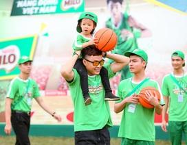 """Diễn viên Hồng Đăng: """"Thể thao giúp con có sự phát triển toàn diện"""""""