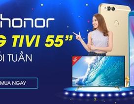 Tặng TV 55 inch khi mua điện thoại Honor: Chiêu khuyến mãi gây sốc