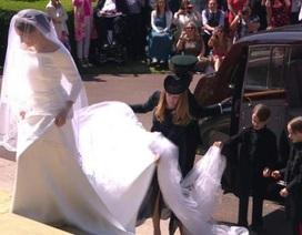 Chiêm ngưỡng váy cưới lộng lẫy của cô dâu Hoàng tử Harry