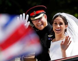 Những khung hình đẹp trong đám cưới cổ tích của Hoàng tử Harry