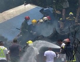 Rơi máy bay chở khách ở Cuba, hơn 100 người thiệt mạng
