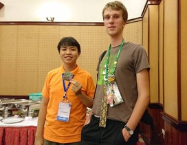 Nam sinh giành HCV Olympic quốc tế là đại biểu thanh niên tiên tiến làm theo lời Bác