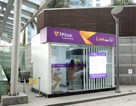 Lần đầu tiên khách hàng có thể nhận thẻ ATM vài phút ngay sau khi đăng ký