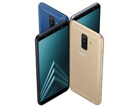 Galaxy A6+ bất ngờ ra mắt, tích hợp camera kép