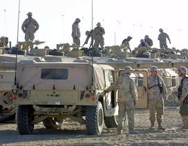 Mỹ, Pháp đưa hàng loạt phương tiện quân sự tới phía bắc Syria