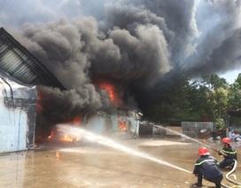 Cận cảnh vụ cháy kinh hoàng khiến 100 tỷ đồng thành tro bụi