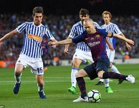 Coutinho lập siêu phẩm, Barcelona đánh bại Sociedad ở vòng cuối La Liga