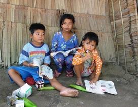 Bố mẹ mắc bệnh hiểm nghèo, 3 con thơ đói khát trong căn nhà sắp sập