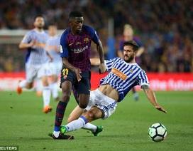 Ngôi sao Barcelona có nguy cơ lỗi hẹn với World Cup 2018