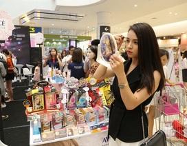 Hơn 10.000 lượt khách xếp hàng đăng ký tham dự Ngày hội trải nghiệm mỹ phẩm Nhật Bản