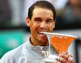 Đánh bại A.Zverev, Nadal lần thứ 8 vô địch Rome Masters