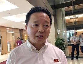 """Bộ trưởng TN-MT nói về việc Thứ trưởng Trần Quý Kiên """"gom"""" đất"""