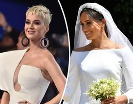 """Ca sĩ Katy Perry """"chê"""" váy cưới của công nương Meghan"""