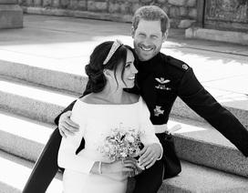 Anh công bố ảnh cưới chính thức của Hoàng tử Harry - Công nương Meghan