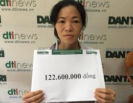 Hơn 122 triệu đồng đến với bé Diệp Chi 3 tuổi bị viêm não