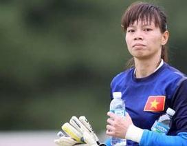 Thủ môn Kiều Trinh chia tay đội tuyển quốc gia: Tạm biệt một tượng đài