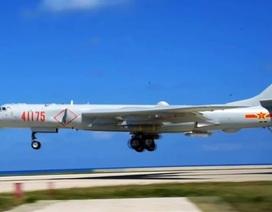 Philippines lo ngại máy bay ném bom Trung Quốc diễn tập ở Biển Đông