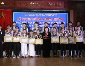 Đắk Lắk: Tuyên dương 62 học sinh, giáo viên đạt thành tích giải quốc gia và khu vực