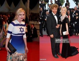 Áo dài Việt gây ấn tượng trên thảm đỏ bế mạc LHP Cannes