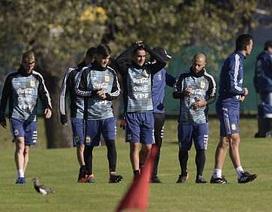 Messi hội quân cùng Argentina, chuẩn bị cho World Cup 2018