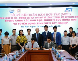 Trường ĐH Thủy Lợi đẩy mạnh hợp tác với doanh nghiệp để tuyển dụng sinh viên