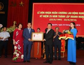 """""""Sinh nhật"""" tuổi 25, Công ty CPTM Thái Hưng đón nhận Huân chương lao động hạng Nhì"""