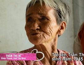 Câu chuyện xúc động về người mẹ 70 tuổi, một mình nuôi con tâm thần