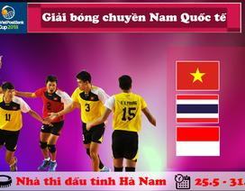 Giải bóng chuyền Nam Quốc tế Cúp Lienvietpostbank 2018: Cuộc thử lửa trước thềm Asian Games