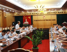 Công bố thanh tra quản lý đất đai và đầu tư xây dựng tại tỉnh Bắc Giang