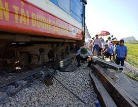 Vụ tai nạn tàu hỏa tại Thanh Hóa: Tài xế xe ben đang rất nguy kịch