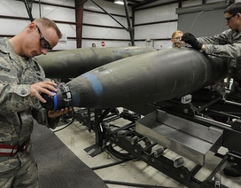 Lầu Năm Góc nói quân đội Mỹ sắp cạn bom